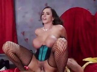 Amazing Ariella Ferrera rides huge dick