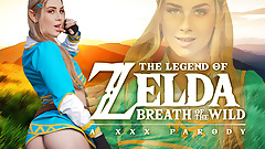 Teen Blonde Princess Zelda Needs Master Sword AKA Your Dick