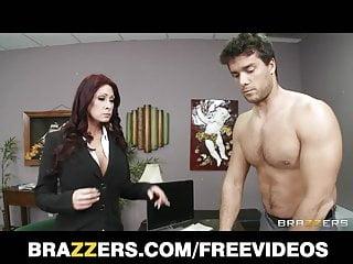Brazzers Redhead Milf Tiffany Mynx Punished For Poor Work