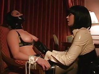 Preview 1 of Lesbian BDSM Latex Breast Suck Tit Suck Lezdom ...