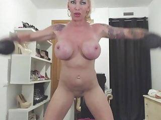 Krisztina Sereny Nude Workout