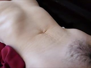 Wife Tied Down Pussy Fingered Vibed Dildo Moving Stomach