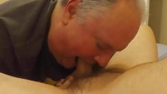 Grandpa blowjob series - 22