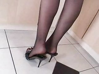 Video sex fetish - Milf in pntyhose high heels sex fetish wheelsex