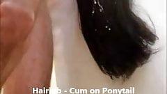 Hairjob - Cum on Ponytail