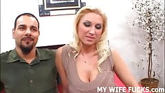 Watch your hot wife getting pounded by a pornstar