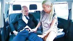VipSexVault - Hot Blonde Karol Lilien Fucks Hard On The Car