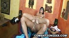Black Angelica - A Rough Sex With A Hot Euro Babe