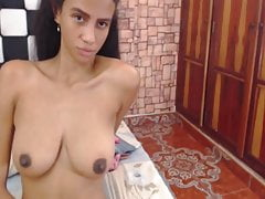 Sexy Colombian On Webcam