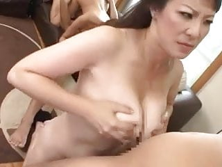 Preview 5 of Busty Japanese Moms and their sons