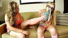 Lesbian Foot Fantasies 1