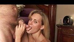 fun with cum bedside