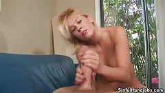 Britany Angel Works Her Hands