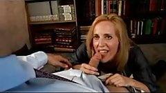Cock sucking blonde milf morgan