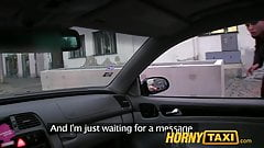 HornyTaxi Kristine pays with her pussy when she cant afford t