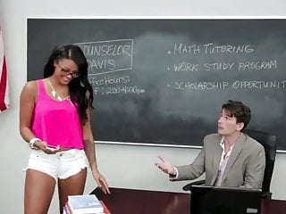 skoolgirl with a Huge Teacher.
