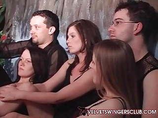 Velvet Swingers Club European members meet up Orgy is on