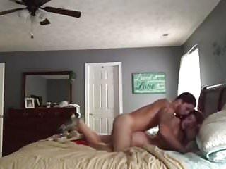 Ex-con Fucks girl in parents bedroom