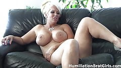 Kicked in the balls by Jolene!