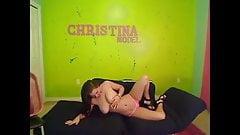 Christina Models In Pink 1