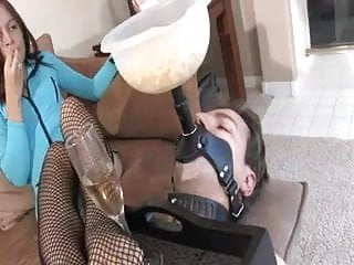 Asian lancaster furniture - Using her slave as a piece of furniture