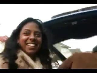 Hot big ass ebony beauty Alvina fucked by withe dick