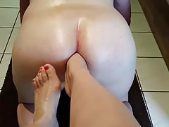 Foot Fisting Anal