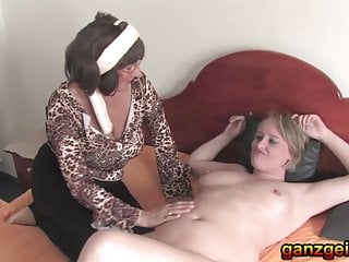 Old german matures lick each other out