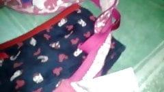 Having fun whit panties & bra