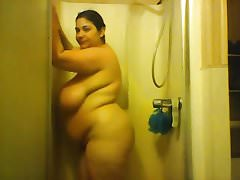 another solo bbw shower video