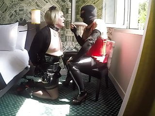 Smoking an tits domination