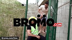 BROMO - Jizz Shower Scene 1 featuring Rico Fatale and Tomm -