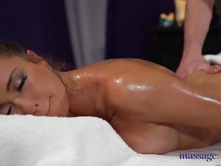 Massage Rooms Big tits brunette Russian Sandra Wellness