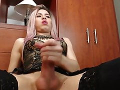 Hot Latin JerkOff & Cum