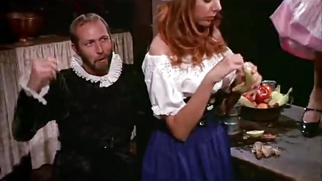 Preview 1 of Medieval Feast Turns into an Orgy (1960s Vintage)