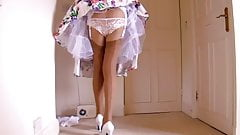 Retro Dress Lace Panties With
