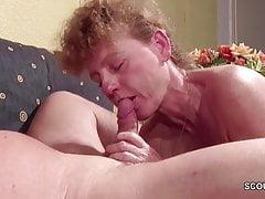 German Mom and Dad Have Fun at Hard Fuck and Facial