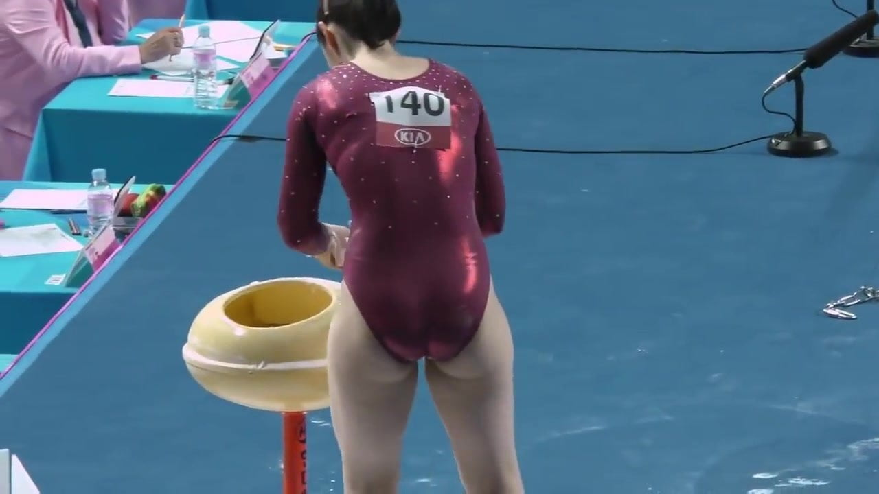 Voyeur girls gymnastics for leotards