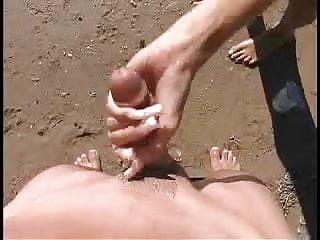 Beach hand job - coolbudy