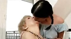 Granny young lesbian lick pussy and ass