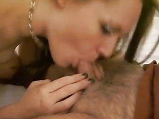 Bbw sucking and licking my dick 002