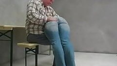 A good spanking over his Knee