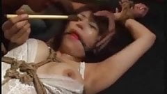 Asian Tied In Lingerie