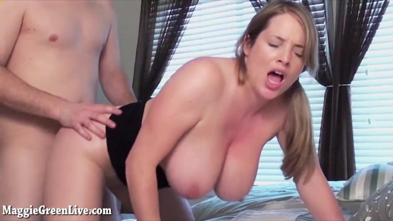 image Busty maggie green receives facial after bj
