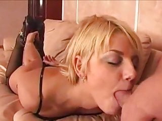Russian Blonde Whore Facefuck