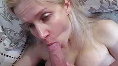 Russian MILF Whore Tania face fucked
