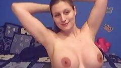 nice preggo whit perfect boobs