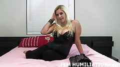 You need to be humiliated and punished