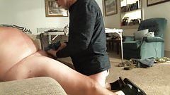 Fatman Handjob with Skill