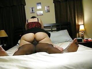 BBW Kanji Casanova rides BBC in her ass